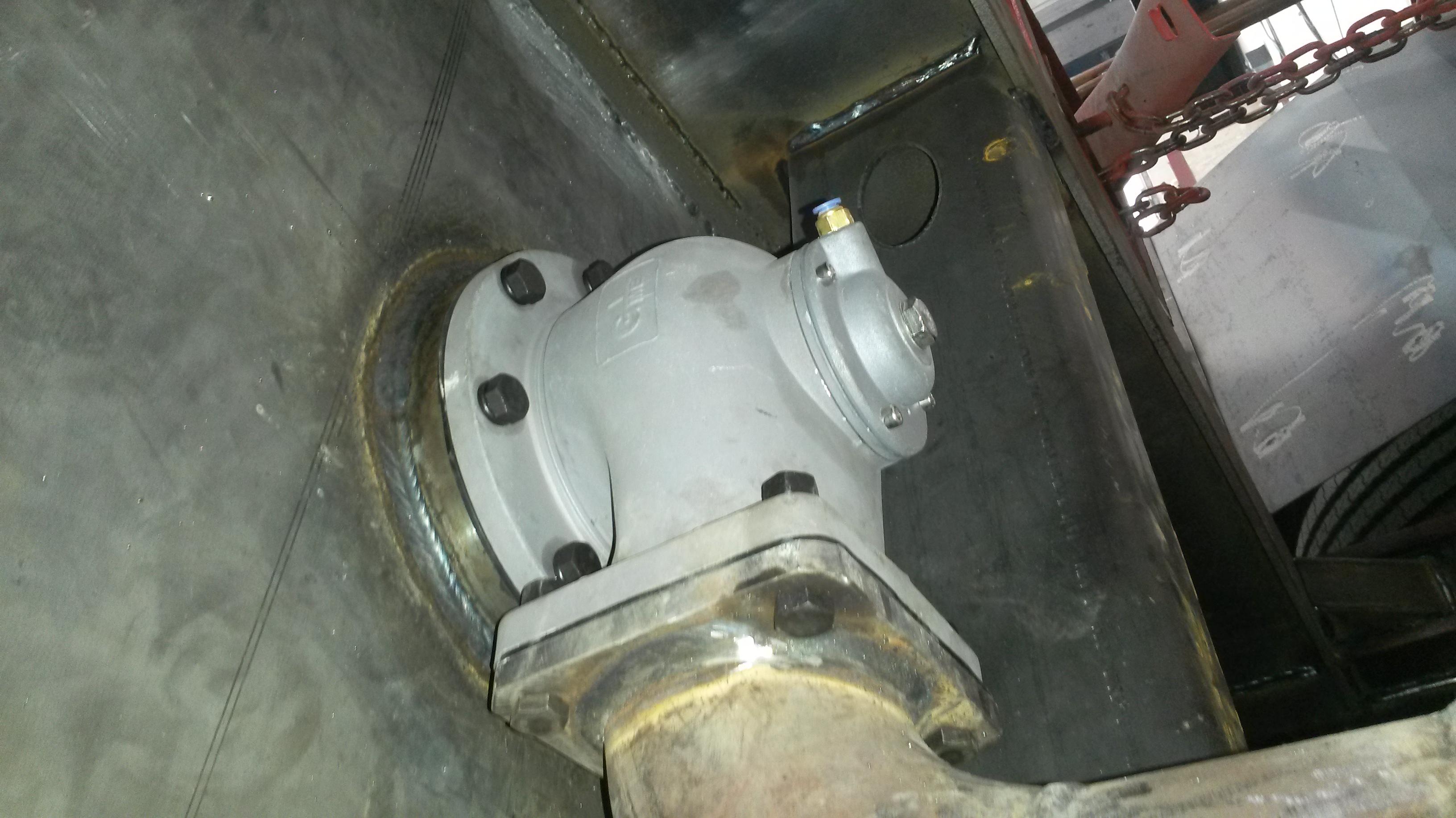 油罐车配件 海底阀