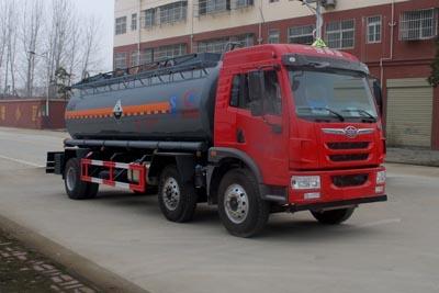 解放14.2方氨水罐车
