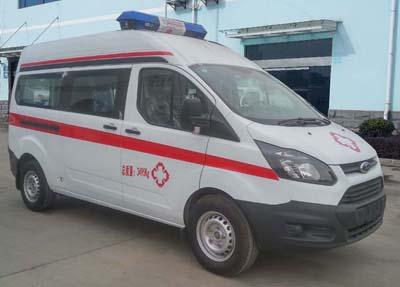 程力威牌CLW5032XJHJ5型救护车
