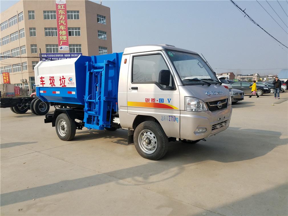凯马(2方)挂桶式垃圾车