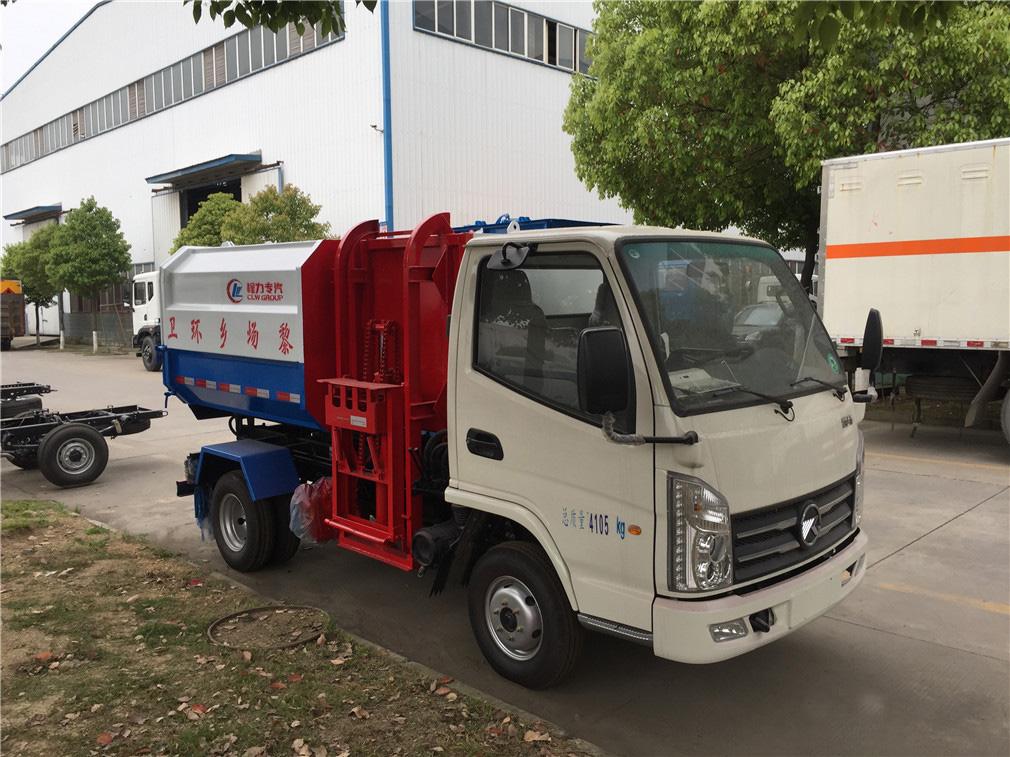 凯马(3方)挂桶式垃圾车