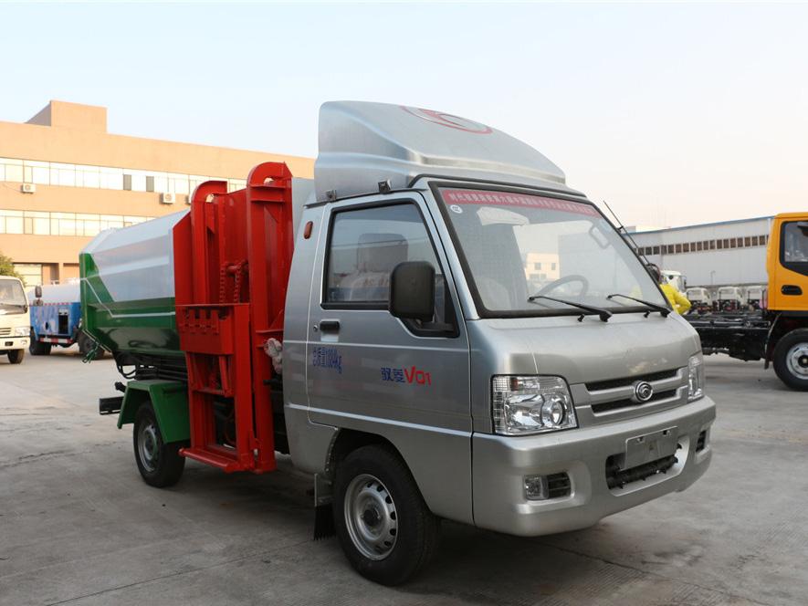福田驭菱3方挂桶垃圾车