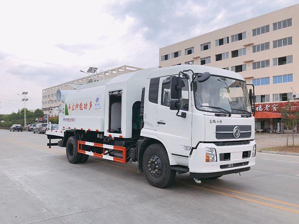 东风天锦(12方)多功能抑尘车雾炮车