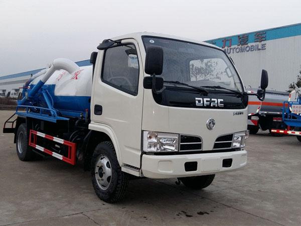 东风多利卡蓝牌SZD5040GXW5吸污车