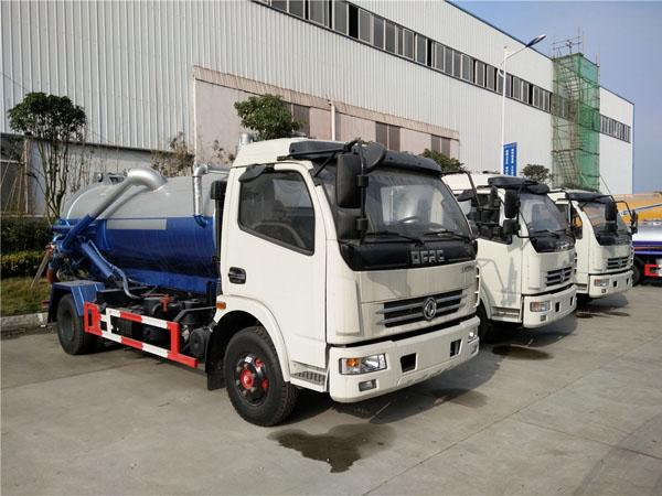 东风大多利卡(7方)CLW5080GXWD5吸污车