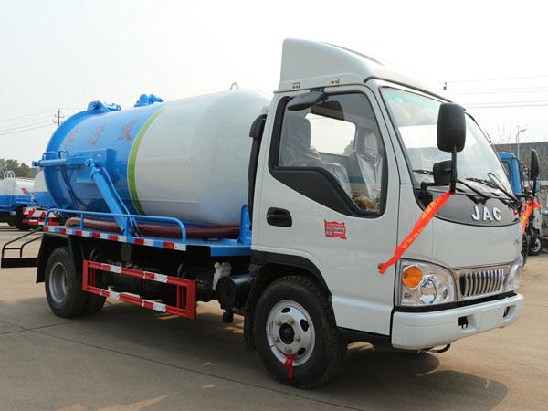 江淮(4.5方)CLW5070GXWH5吸污车