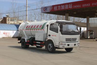 东风大多利卡CLW5080GQW5清洗吸污车