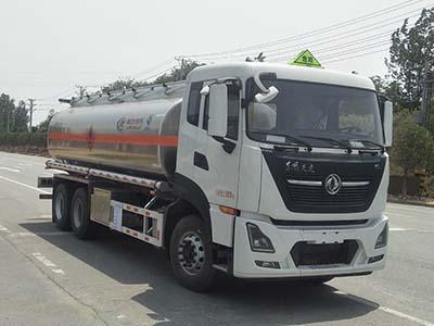 【国六】东风天龙22方铝合金运油车