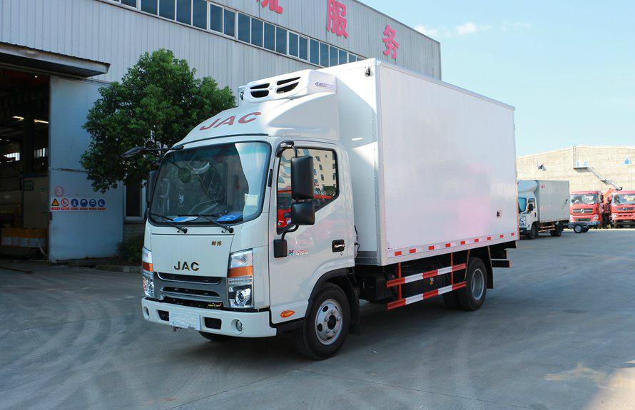 江淮4.2米小型冷藏车